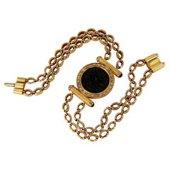 Fred Constantine Coin Link Bracelet 18 Karat Retro Class