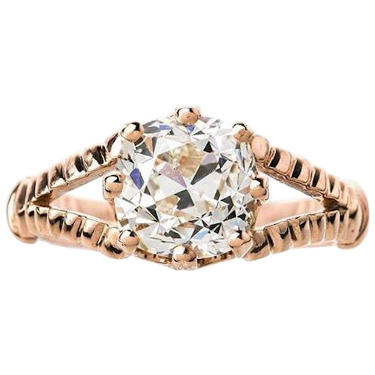 Victorian Inspired 0 71 Carat Pear Shape Diamond Tiara Engagement
