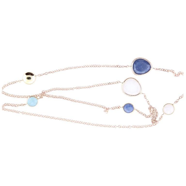 Multi-Color Gemstone Necklace