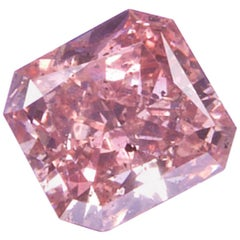 Incredibly Rare .48 Cushion Modified Brilliant Pink Diamond (GIA Certified)