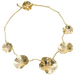 Coomi 20K Serenity Cactus Flower Diamond Necklace