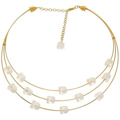 Lalique Lillies of the Valley Necklace