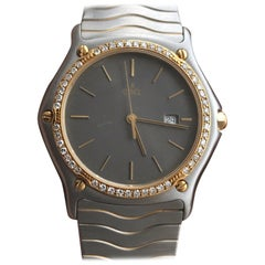 Ebel Classic Wave Two-Tone Diamond Bezel