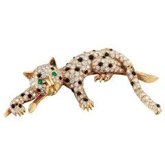 Cat Brooch Made by Van Cleef & Arpels
