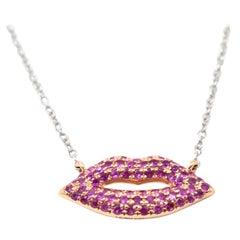 Ruby Pendant Necklaces