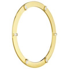 Cadar Prime Bracelet, 18 Karat Yellow Gold and 1.27 Carat White Diamonds, Medium