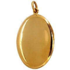 14 Karat Yellow Gold Locket