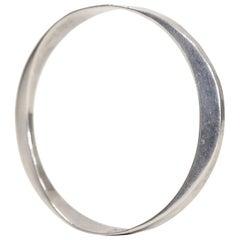Tone Vigeland Scandinavian Silver 1958 Bangle Bracelet