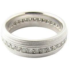14 Karat White Gold Diamond Eternity Wedding Band