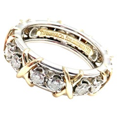 Tiffany & Co. Jean Schlumberger Yellow Gold and Platinum Diamond Ring