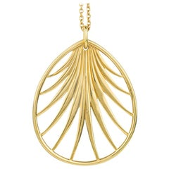Paloma Picasso Palm Frond Pendant Necklace