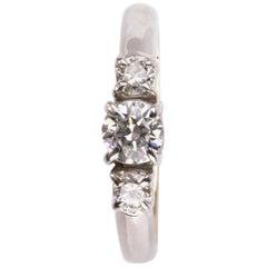 Trilogy Diamond Gold Ring