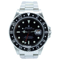 Rolex GMT Master II 16710 Black Bezel Stainless Steel