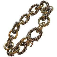 David Yurman Oval Cable Link Bracelet