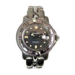 Bertolucci Ladies Stainless Steel Date Bracelet automatic Wristwatch