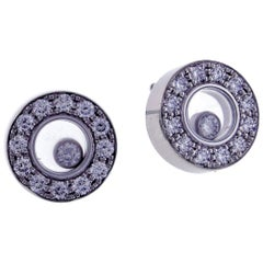 Chopard Happy Diamond Round Earring