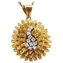 Diamond Gold Necklace Pendant