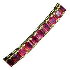 Ruby Tennis Bracelets