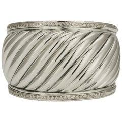 David Yurman Wide Cable Cuff Bracelet