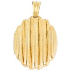 Victorian Etruscan Gold Locket