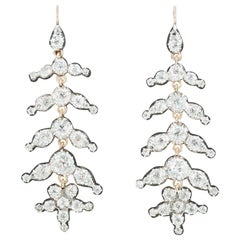 Victorian Articulated Diamond Earrings