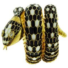 18 Karat Yellow Gold Serpenti Secret Watch Bracelet by Bulgari