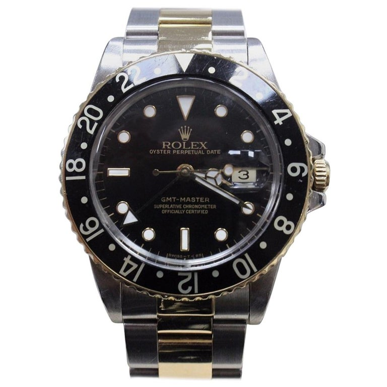 rolex gmt master root beer ref 16753 for sale at 1stdibs