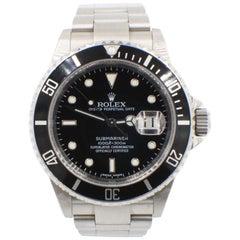 Rolex Submariner 16610 Stainless Steel Black Dial Rehaut 2008