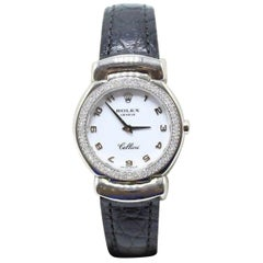 Rolex Ladies 6671 Cellini Cellissima 18 Karat Gold Diamond Bezel Box and Papers