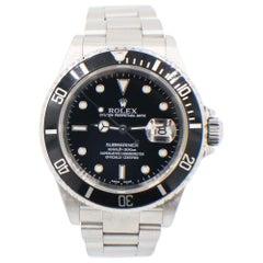 Rolex Submariner 16610 Stainless Steel Black Dial 2002