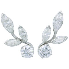 Diamond Earring Climbers, 1.70 Carat