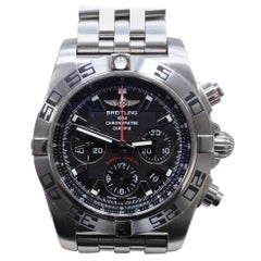 Breitling Chronomat AB0116 Flying Fish Stainless Steel Box and Papers
