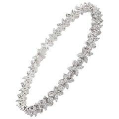Tiffany & Co. Diamond Victoria Bracelet in Platinum 4.33 Carat
