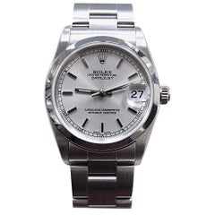Rolex 78240 Midsize DateJust Stainless Steel Box and Papers