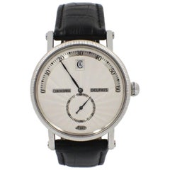 Chronoswiss Delphis Jump Hour Retrograde Stainless Steel CH1423