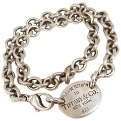 Return to Tiffany & Co. Sterling Silver Necklace