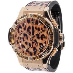 Limited Edition Hublot Leopard Big Bang 341.PX.7610.NR.1976 Unisex Watch