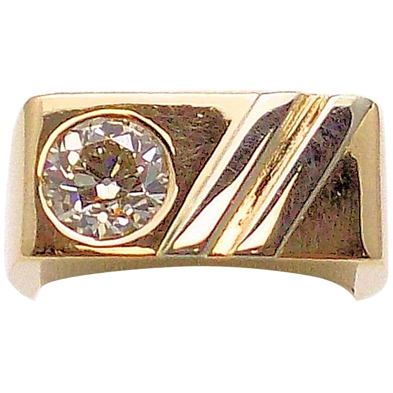Gent's Diamond Ring For Sale