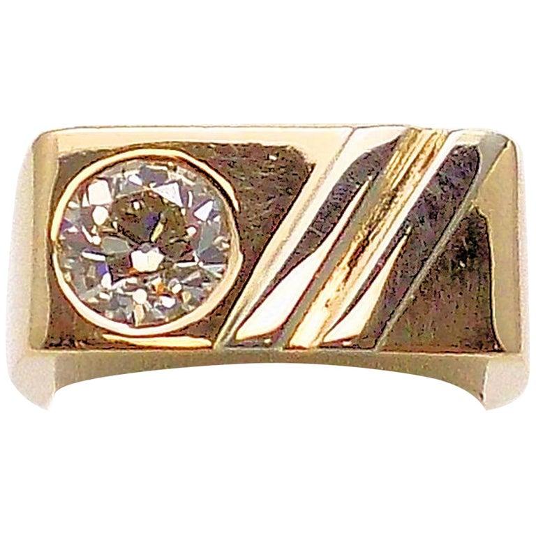 Gent's Diamond Ring