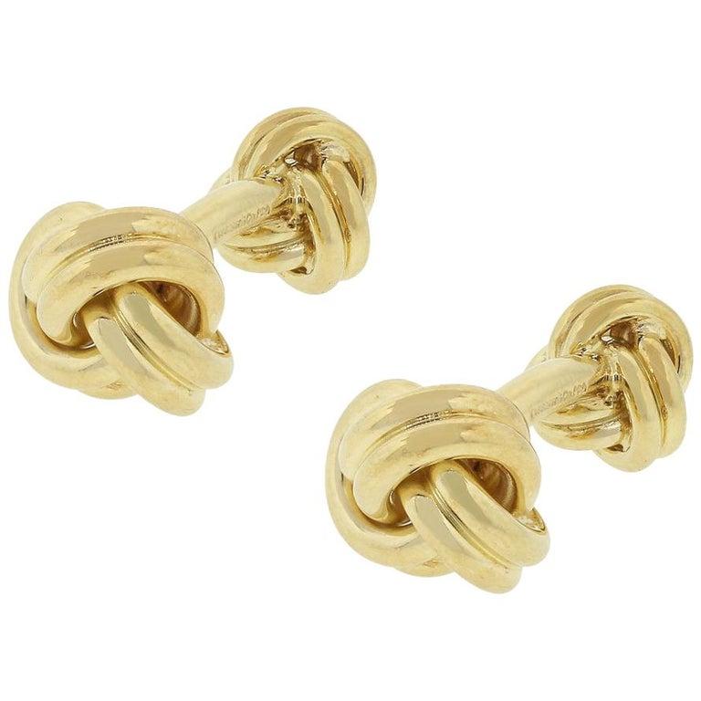 Tiffany & Co. Knot Men's Cufflinks