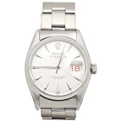 Rolex Oyster Perpetual Date 6534 Stainless Steel Roulette Date Window