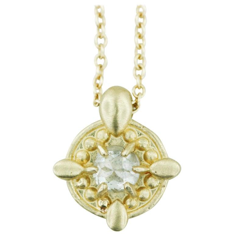 Aimee Kennedy, Mini Rose Cut Diamond Pendant