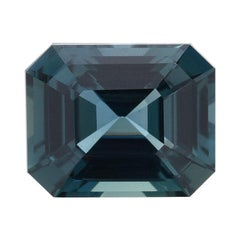 Unheated Sapphire Emerald Cut GIA Certified 6.07 Carat