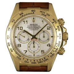 Rolex Zenith Movement Daytona Gold Mother-of-Pearl Dial 16518 Automatic Watch