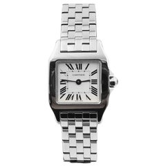 Cartier Santos Demoiselle 2698 Ladies Stainless Steel, Box and Service Papers