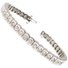 Tennis Bracelet 6.30 Carat