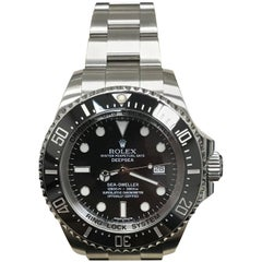 Rolex 116660 Deepsea Sea Dweller Black Ceramic Stainless Steel