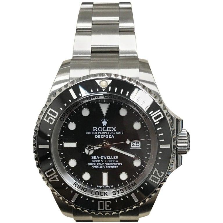 Rolex 116660 Deepsea Sea Dweller Black Ceramic Stainless Steel
