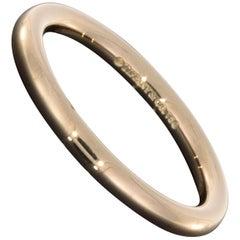 Tiffany & Co. 18 Karat Rose Gold Classic Rounded Gents Wedding Band