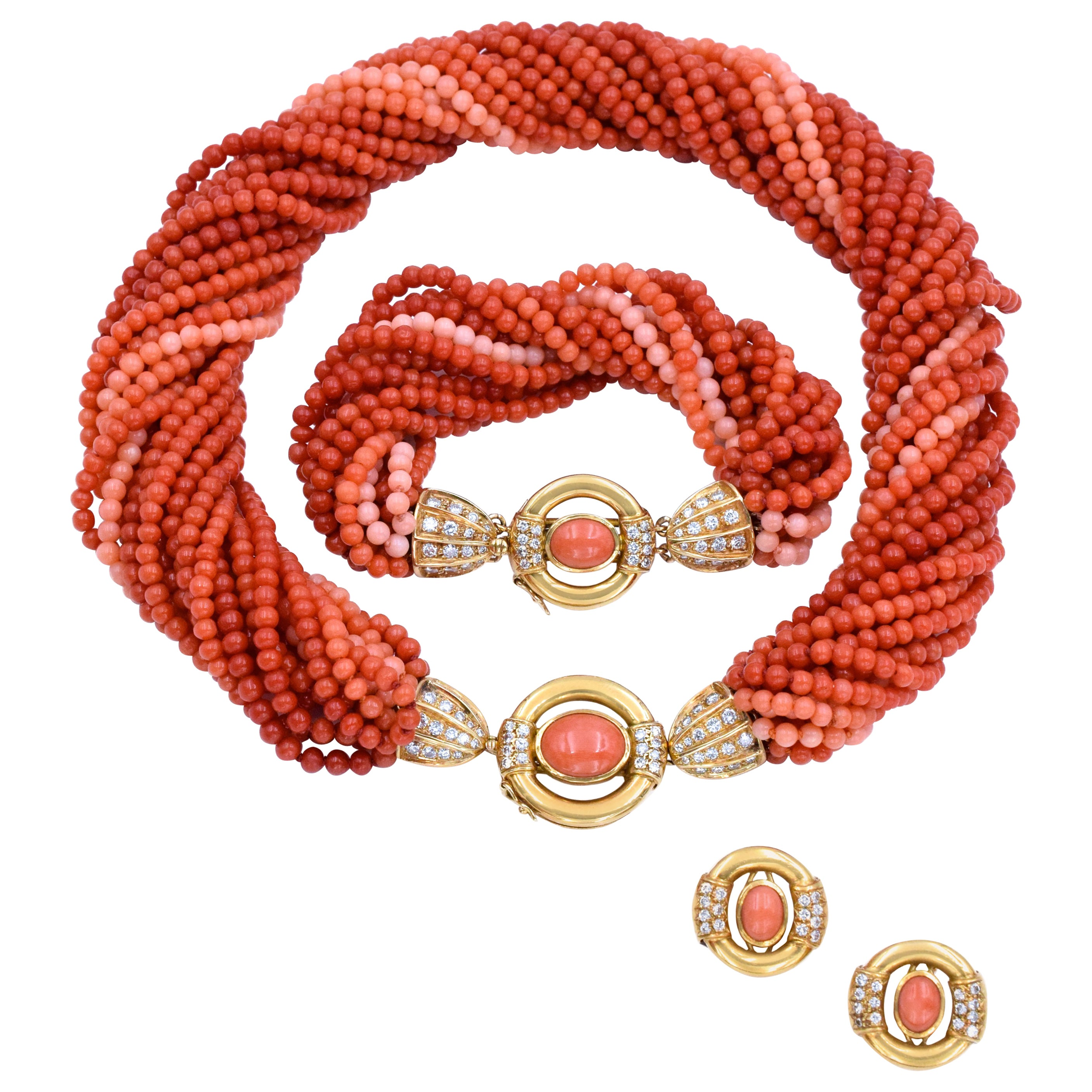 Gucci a Coral and Diamond Suite